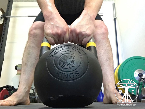 Kettlebell Kings Fitness Edition Kettlebell Review - Two Hand Grip