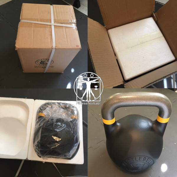 Kettlebell Kings Fitness Edition Kettlebell Review - Unboxing