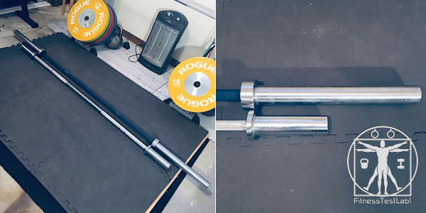 Best Short Barbells for Home Use - American Barbell Performance Training Bar Review - Size Comparison