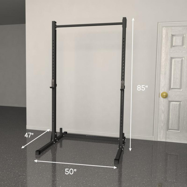 Fringe Sport Garage Series Squat Rack Review - Dimensions