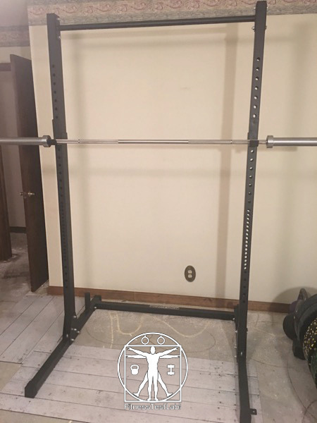 Fringe Sport Garage Series Squat Rack Review - Fully Assembled