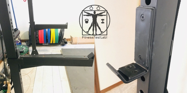 Fringe Sport Garage Series Squat Rack Review - J-hooks and Spotter Arms