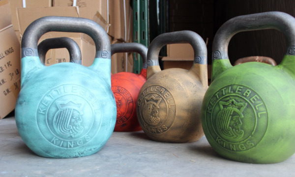 Kettlebell Kings Fitness Edition Kettlebell Review - Cerakote option_