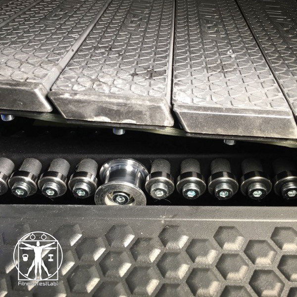 Assault AirRunner Review - View of the Bearings
