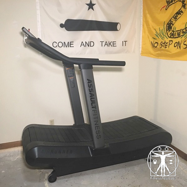 Assault Fitness Air Runner Review - Installed in the Freedom Corner