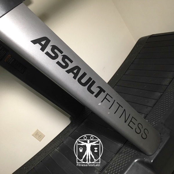 Assault Fitness Air Runner Review - Prominent Branding