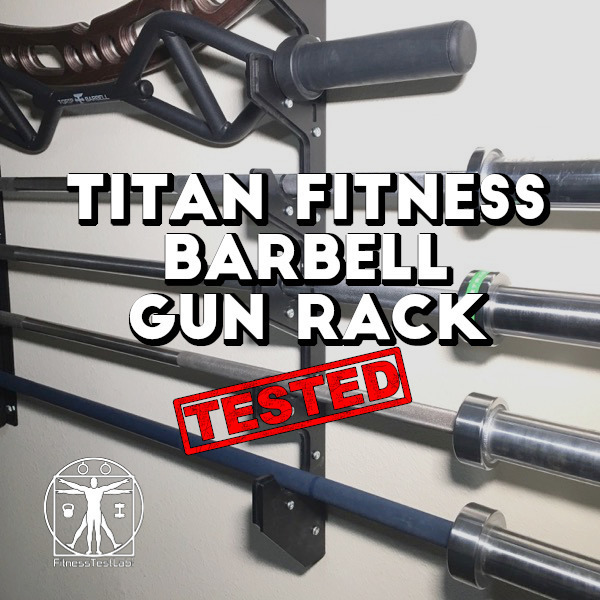 Titan Fitness Barbell Gun Rack Review - Title Pic