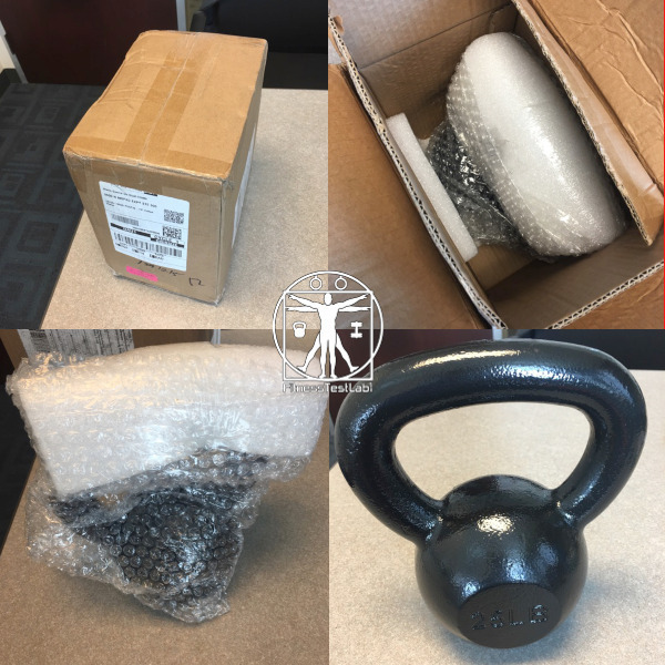 Best Kettlebells Review - AmazonBasics Kettlebell Review - Unboxing