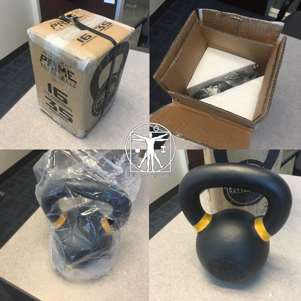 Best Kettlebells Review - FringeSport Prime Kettlebells Review - Unboxing