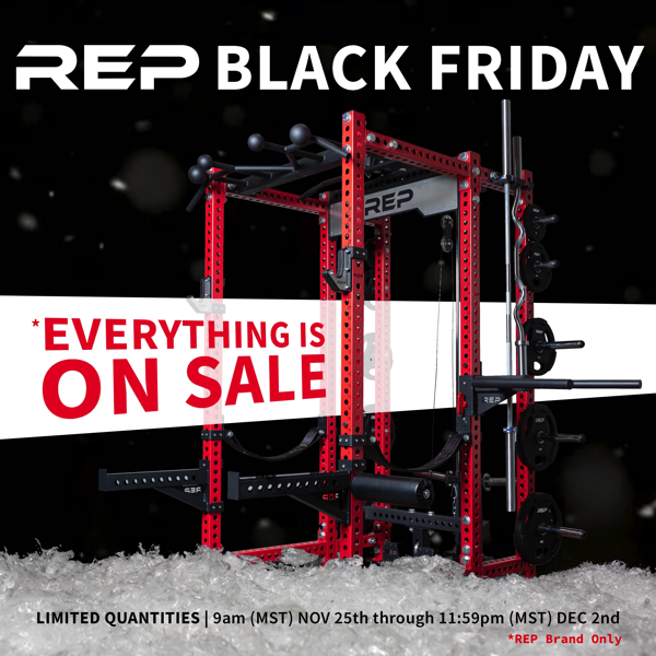Rep Fitness Black Friday 2019 sale