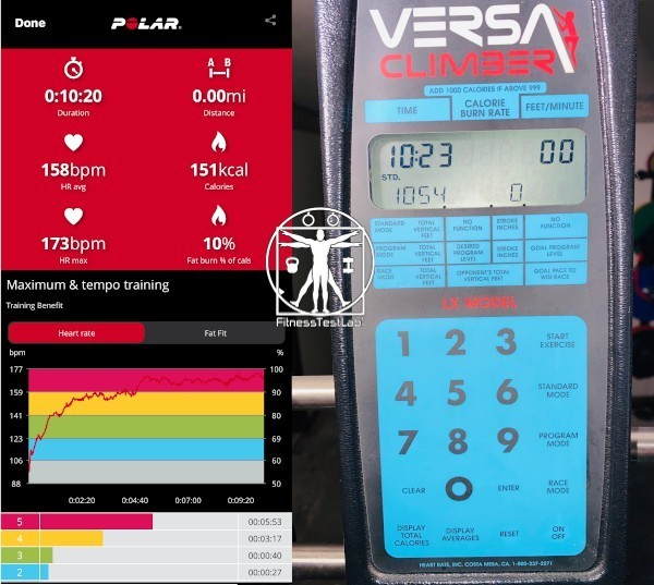 Versaclimber Review - Calories Burned Climbing 1000 feet