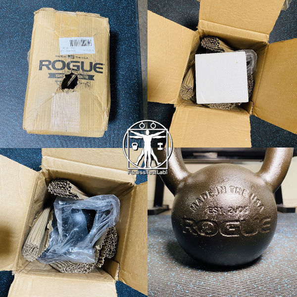 Best Kettlebells for Home Fitness - ROGUE KETTLEBELL E COAT Review - Unboxing
