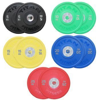 Titan Fitness Urethane Bumper Plates Review - Price Check
