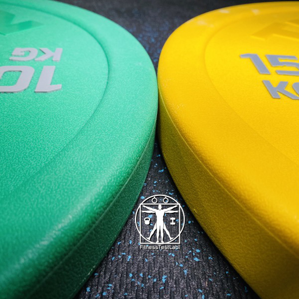 Titan Fitness Urethane Bumper Plates Review - Textured Surface and Rounded Edges for Better Grip