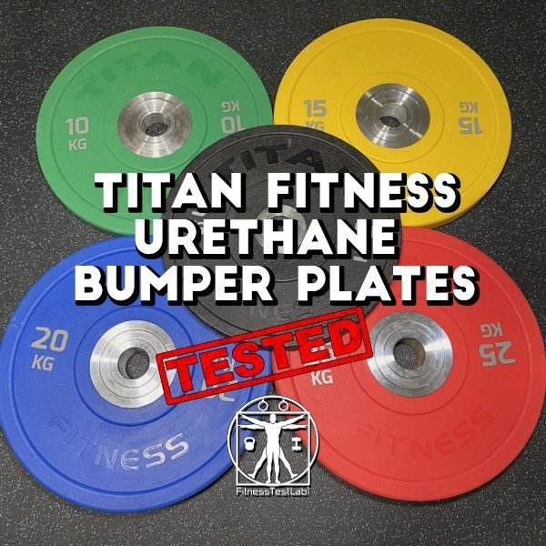 Titan Fitness Urethane Bumper Plates Review - Title Pic