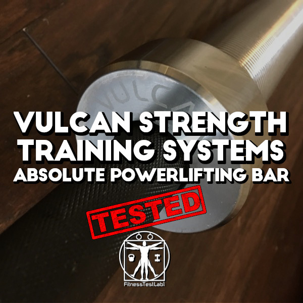Vulcan Absolute Powerlifting Bar Review - Title Pic_