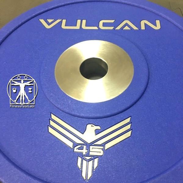 Vulcan Strength Urethane Bumper Plates Review - 45lb Urethane Plate