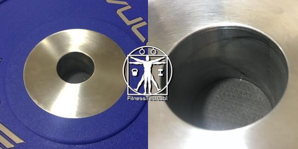 Vulcan Strength Urethane Bumper Plates Review - Single Piece Insert_