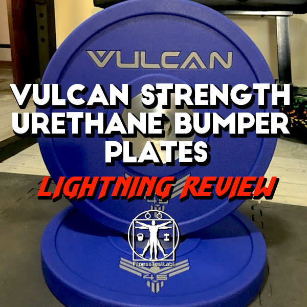 Vulcan Strength Urethane Bumper Plates Review - Title Pic