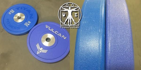Vulcan Strength Urethane Bumper Plates Review - Vulcan Strength Urethane Bumper Plates vs Titan Fitness Urethane Bumper Plates