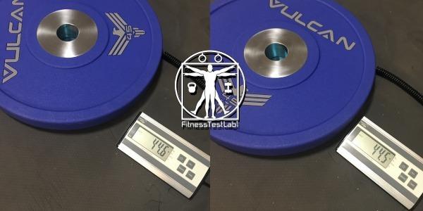 Vulcan Strength Urethane Bumper Plates Review - Weight Tolerance