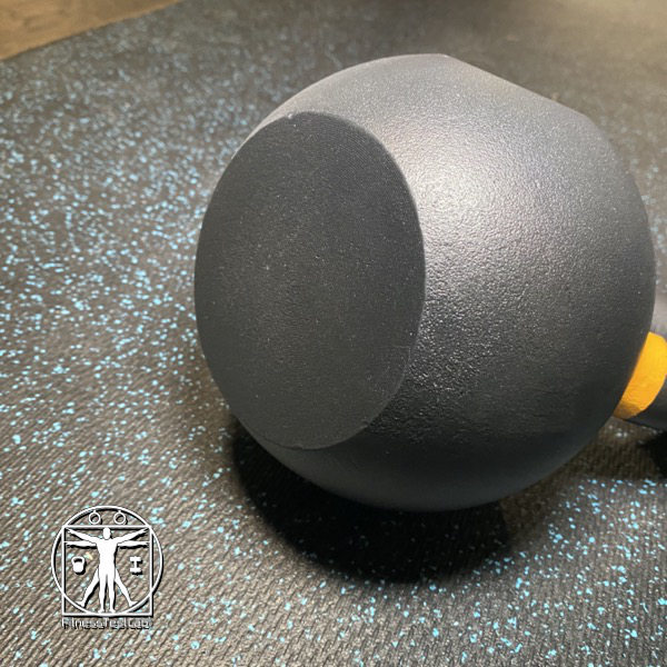 Best Kettlebells Review - 2020 Kettlebell Kings Powder Coat Review - Completely Flat Base