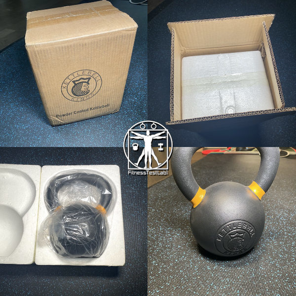Best Kettlebells Review - 2020 Kettlebell Kings Powder Coat Review - Unboxing