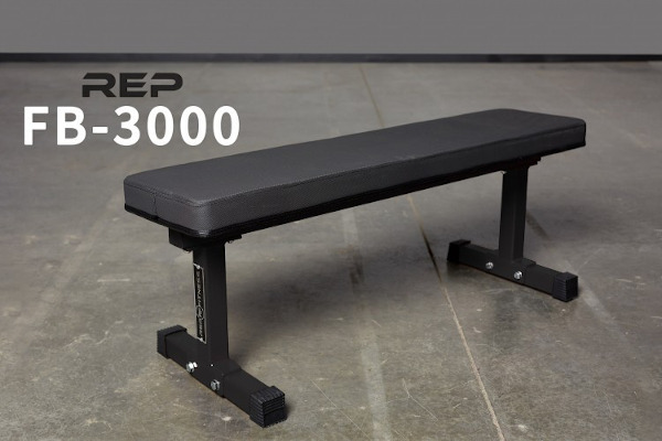 Home Gym Essentials - Rep Fitness FB-3000 Flat Bench