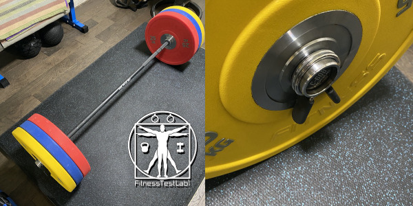 Best Compact Barbells - Rogue C-60B Bar - Loaded Sleeves