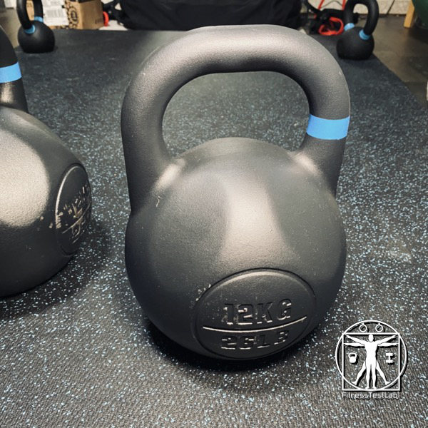 Rogue Competition Kettlebell Review - Handle Window_