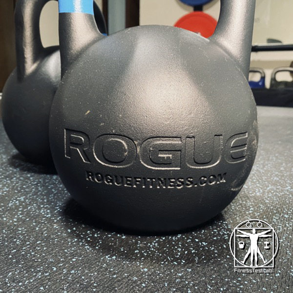 Rogue Fitness Competition Kettlebell Review - Etched Logo_