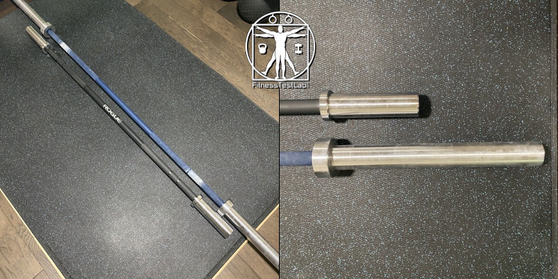 Best Compact Barbells - Rogue C-60B Bar - Size Comparison