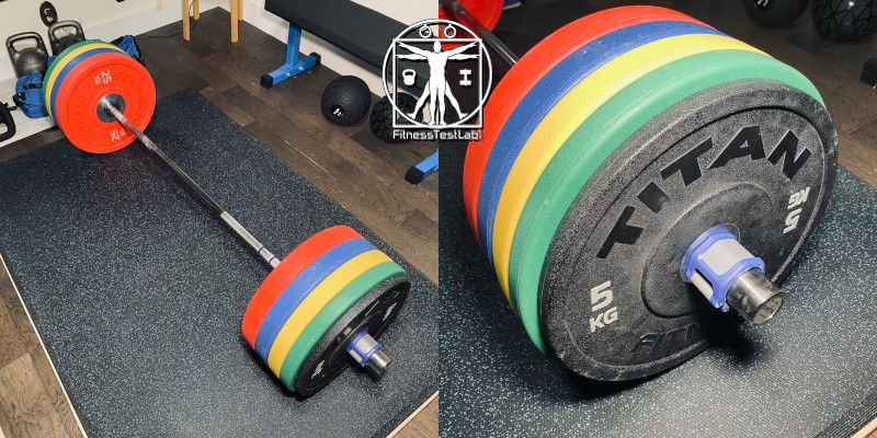 Best Compact Barbells for Home Use - Eleiko XF Short Bar Review - Loaded Sleeves 800px