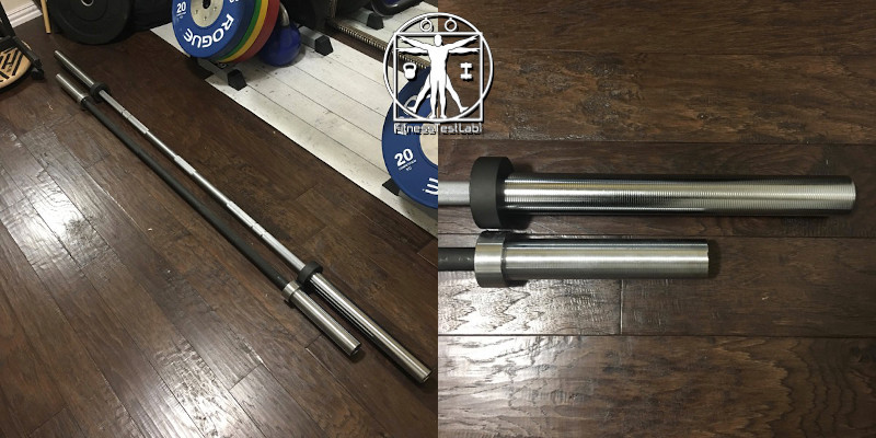 Best Short Barbells for Home Use - CAP OB-73UL Review - Size Comparison