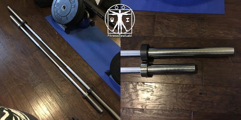 Best Short Barbells for Home Use - Fringe Sport Shorty Bar Review - Size Comparison