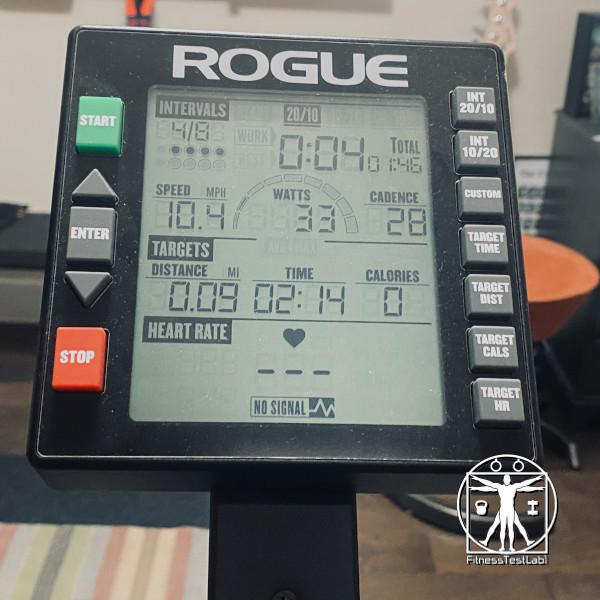 Rogue Echo vs Airdyne Pro - Rogue Echo Bike Console