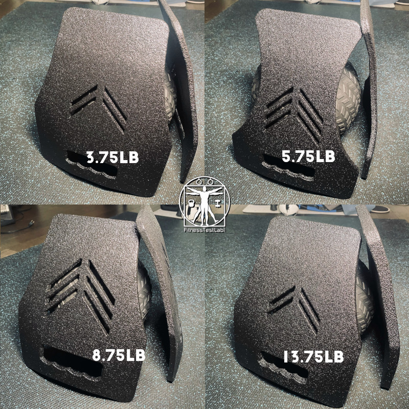 Best Weight Vests for Home Fitness - CATI Armor Ergonomic Fitness Plates - Four Sizes
